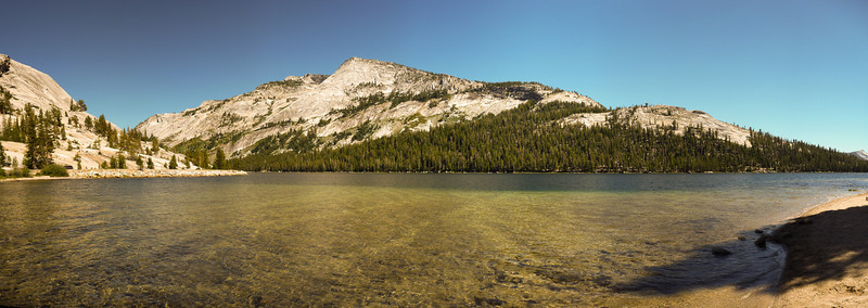 tenaya lake in yellowstone national park.