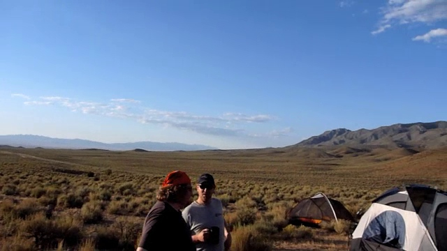 campsite just outside rachel, nv. awesome views!