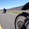 one of my favorites from the trip... taken while riding along @ 70mph+, with dan just in front of me on his vstrom.