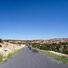 paved portion of burr trail, ut