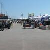 Commercial vendor area