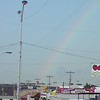 Tuesday evening rainbow over the Midway/