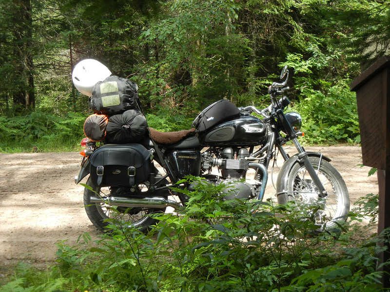 On Rustic Road 95 in Chaquamegon National Forest.