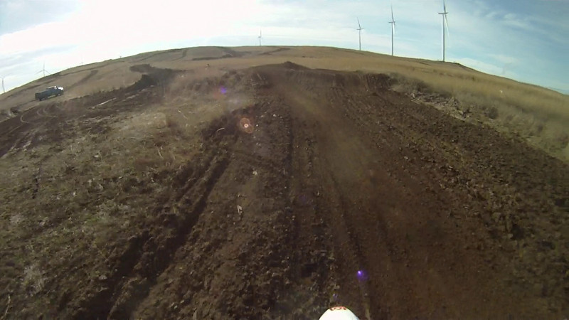 MX on the 125, break in complete... Shane shows up on his 125 5 minutes or so in...