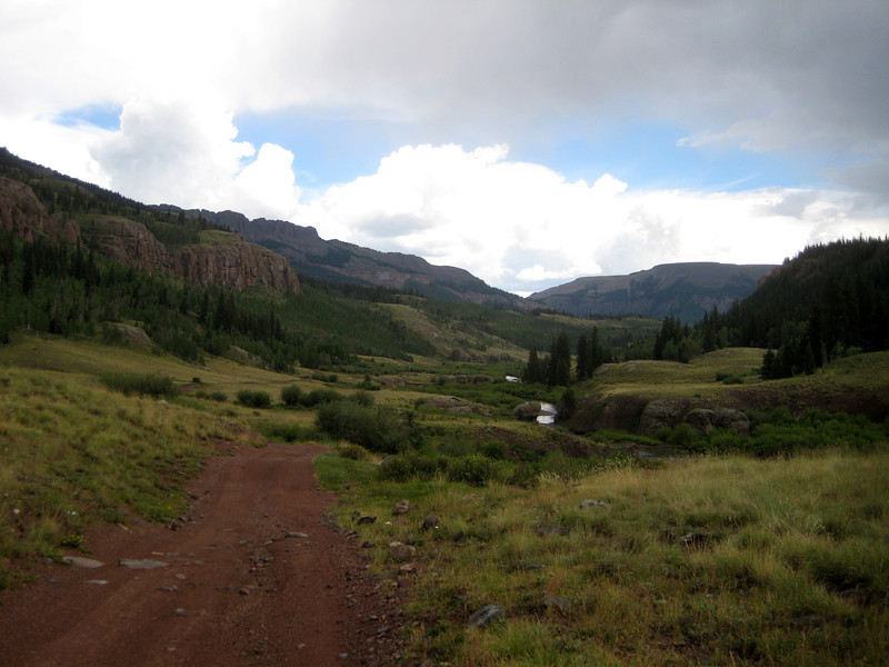 Heading to Creede, CO.