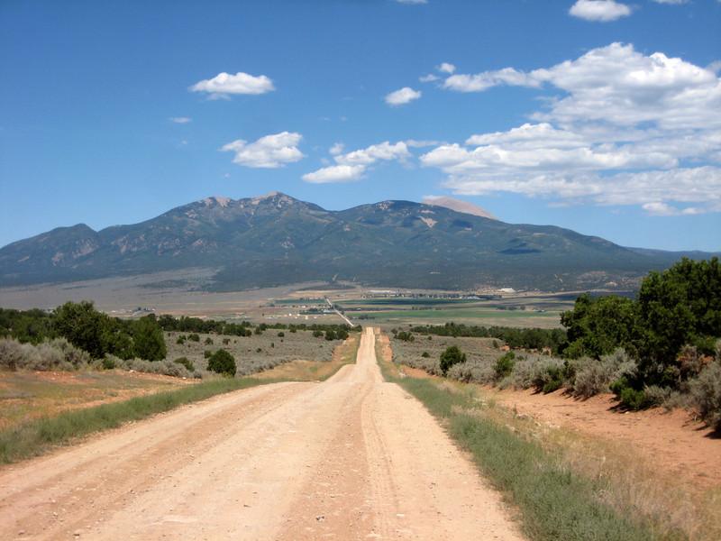 La Sal range on the CO/UT border.