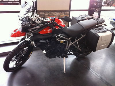 2011 Triumph 800XC