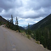 Back way up to pass in Rocky Mountain National Park
