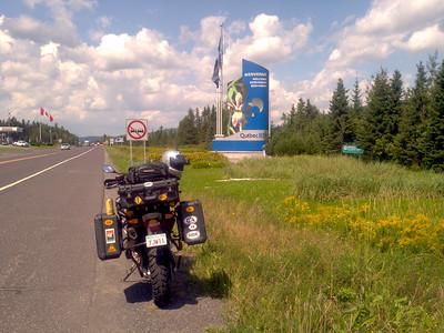 Muskoka run August 2011