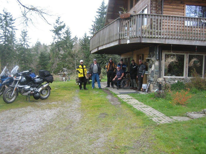 20120401 Robert, John, Sidecar Les, Ray, Ric, Jim and Myself