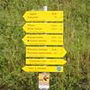Hiking Trails Signpost