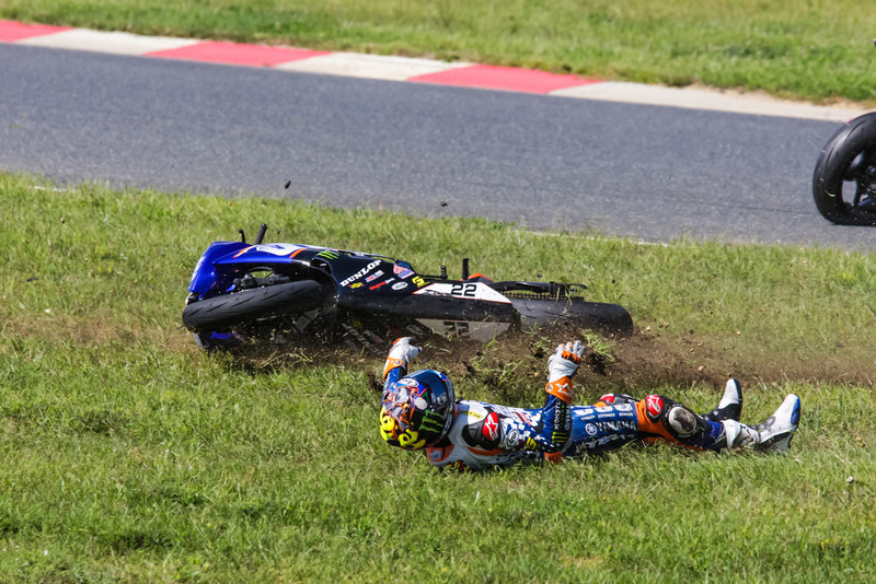 #22 TOMMY HAYDEN CRASHES NJMP