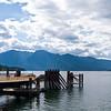 The dock at Kooteny Lake Fairy