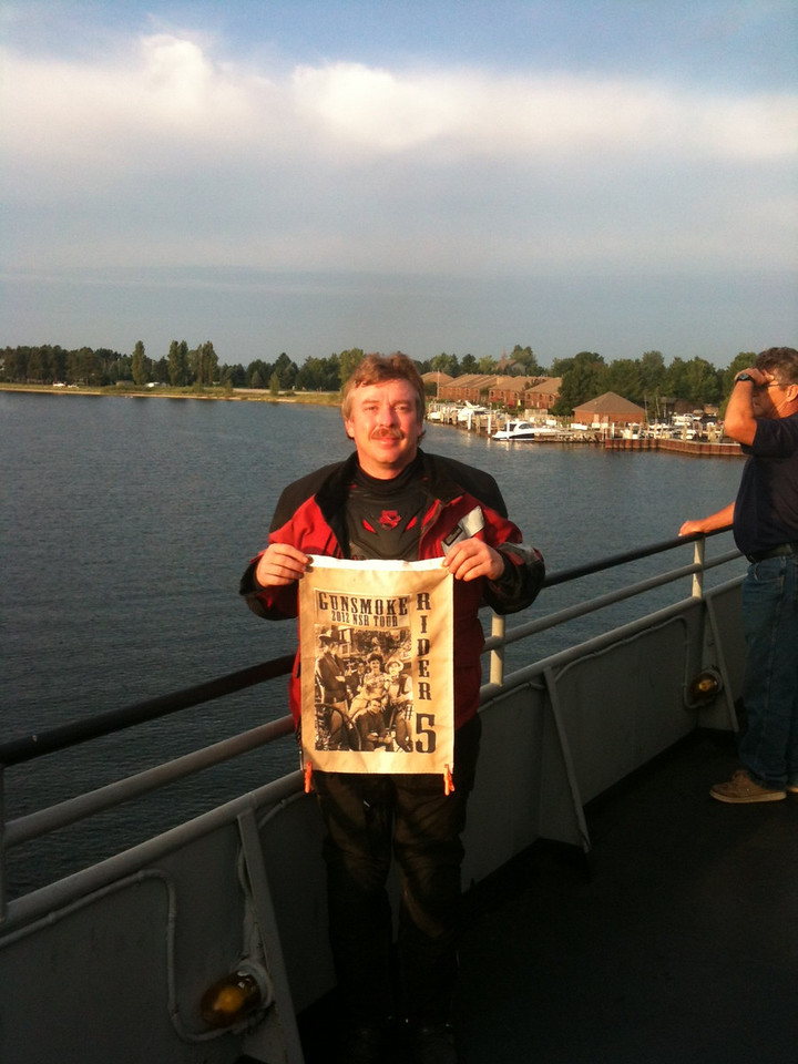 SS Badger Lake Michigan Ferry
