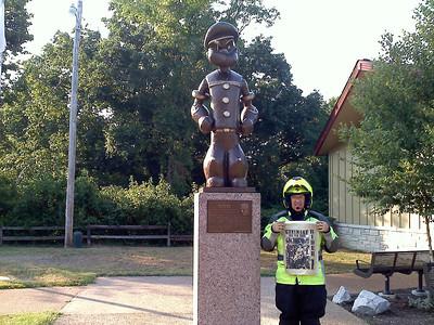 139 Popeye Statue