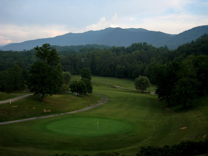 View from the Golf Course Restaurant near Rob's cabin.