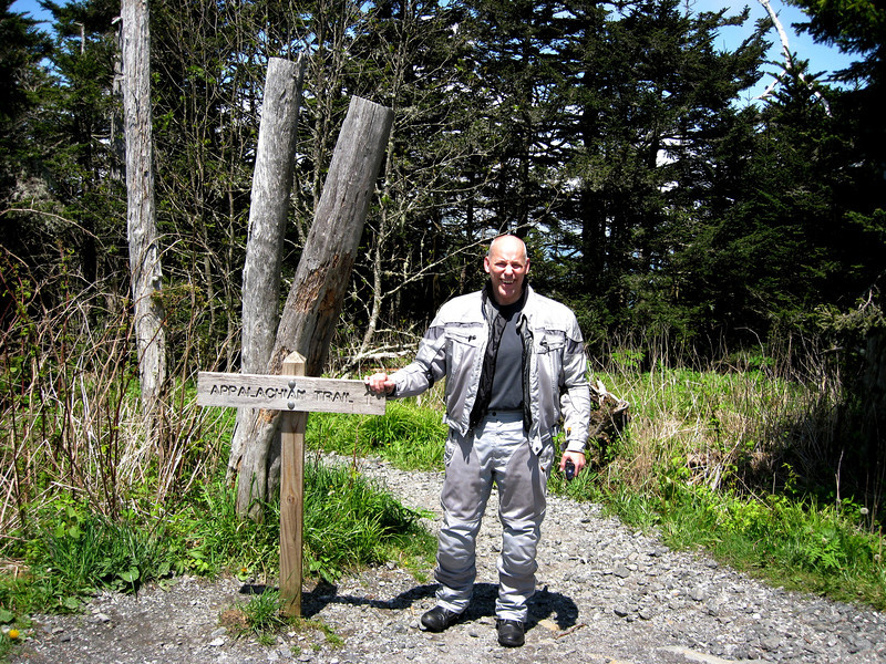 Appalachian Trail access to Clingman's Dome