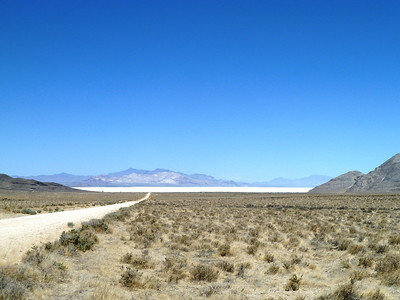 The Black Rock Desert--Dry lake -NV  huge