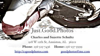 Just.Good.Photos Business Card