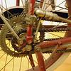 Indian 1914 Direct Drive wheel rear hub