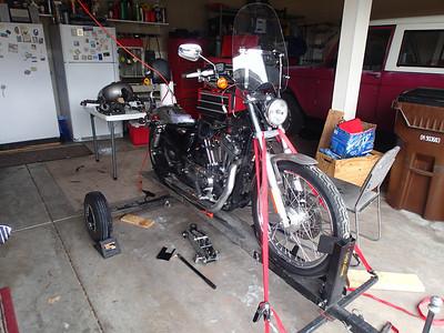 2013 April Sporster Repair