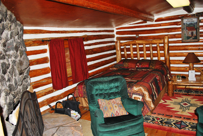 Interior of the Southwest Cabin.  $79/night!!!