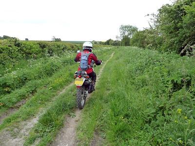 2013 June - Gosia's First Trail Ride