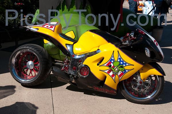 2013 Rats Hole Custom Bike Show on Mar. 16, 2013