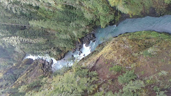 20140420 Looking E From the High Steel Bridge over the Skokomish