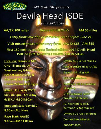 2014 Devil's Head