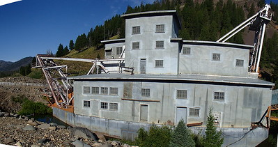 20140731 Gold Dredge in Custer, ID