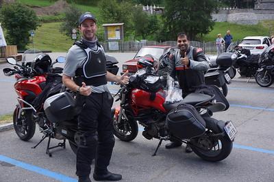 The SanFran Boys, Dan and Raza.    AKA   Team Ducati