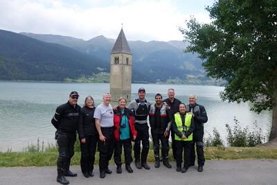 Tim, Kathy, Bud, Kate, Dan, Raza, Rod, Ina and Jose.   First group photo