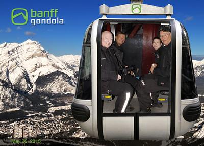 Sulphur Mountain - Banff Alberta