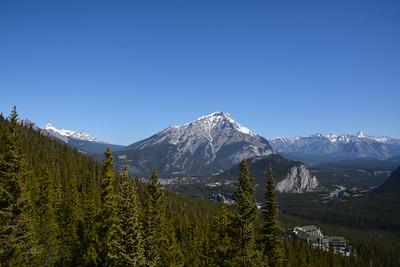 View from Sulphur Mountain - Banff Alberta