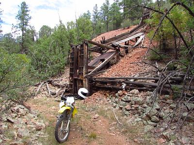 Zuni Mtns. - San Rafael Mesa-South  Fluorspar Mine Loop-Aragon area DS Ride  9-26-16