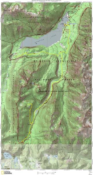 Bumping Lake Campout Cori and Lacey June 10-12 2016 32 mi