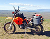 KTM on Umtanum Ridge