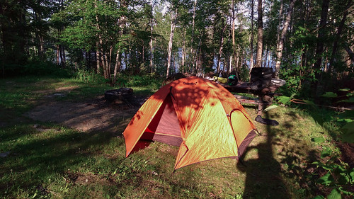 Camping at the USFS Fenske Lake Campground