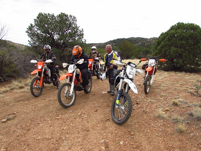 Springtime-Aragon Hill-San Jose Arroyo DS Ride  3-26-18