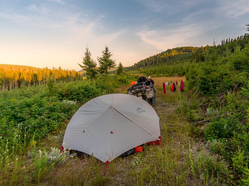 boondocking again near Moose Valley
