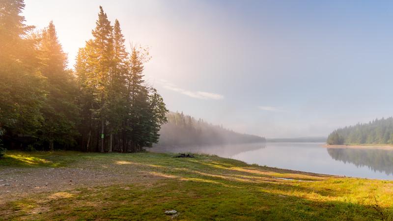 Serpentine Lake free camping.