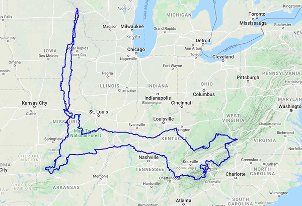 The Route I Took