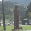 Morton Logger statue