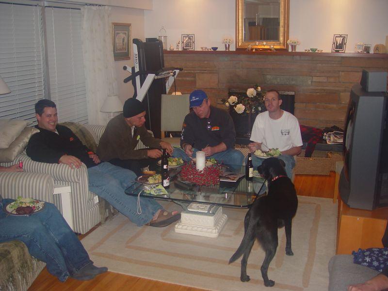 Colin, Ryan, Chris, Justin.