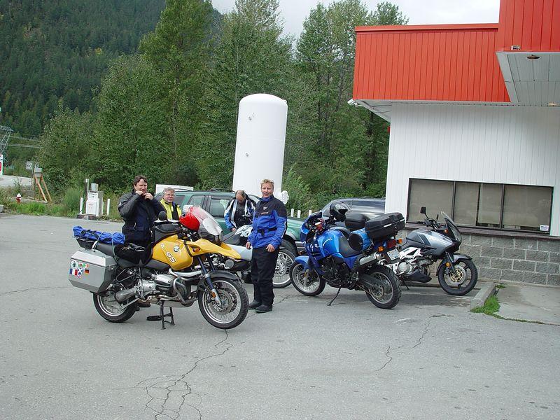 More riders join us in Pemberton.