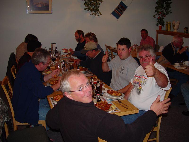 First nights dinner in Lillooet.