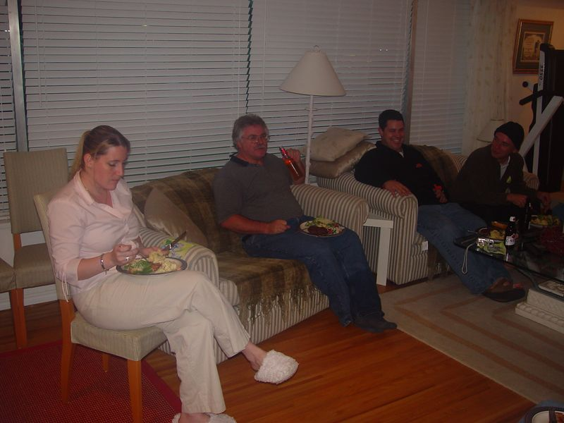 Gene, Colin's wife and the one who did all of the hard work to feed us ungrateful ADV-Riders.