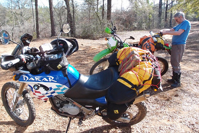 3-9-14 Coosa County Dual Sport Ride and Camping at Horsestomp