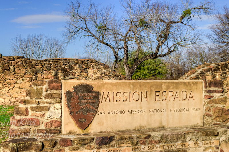 Espada Founded 1690, the oldest of the East Texas missions was moved to the San Antonio River in 1731 . The southernmost of the San Antonio chain of missions,